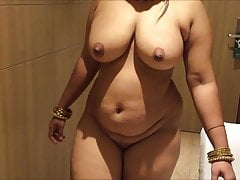 Busty Indian Brown Curvy With Big Boobs MILF