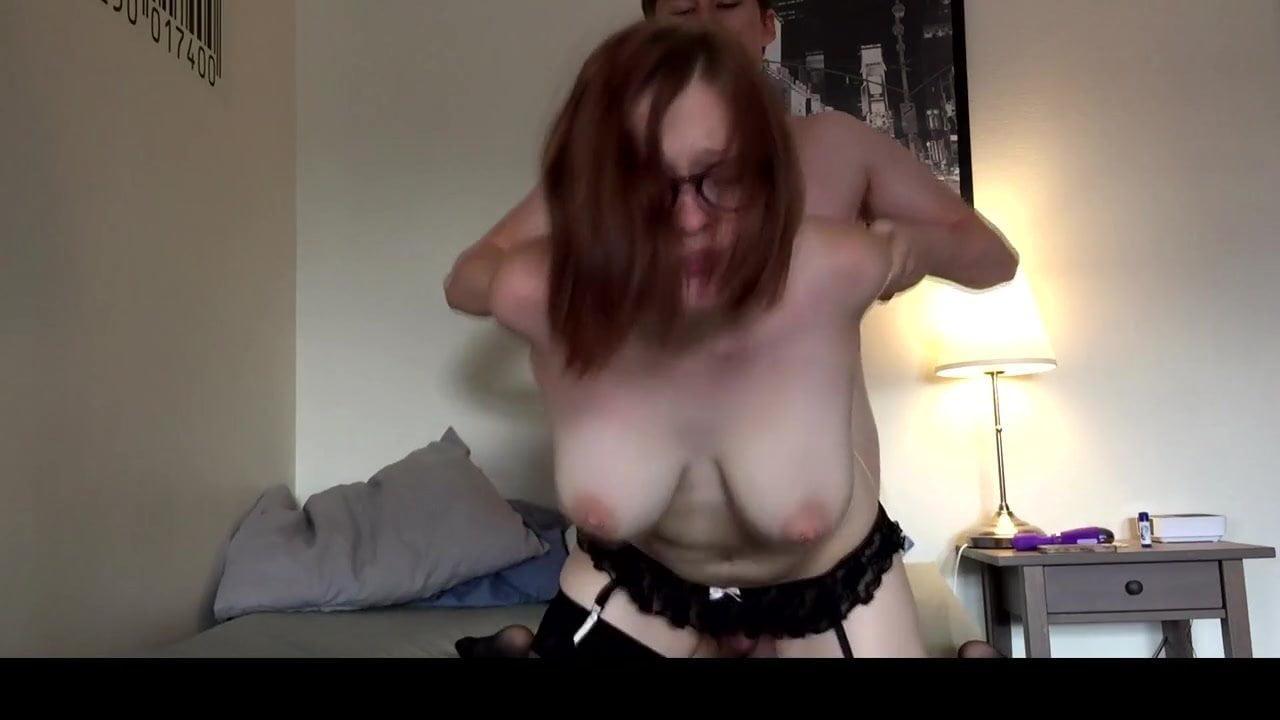 Amateur Monster Dildo Orgasm