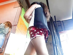 Upskirt and Candid short
