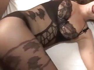 Pantyhose Cumshot video: pantyhose creampie