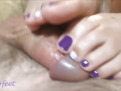 Luv4feet - 2018 Purple Shades Footjob PT1