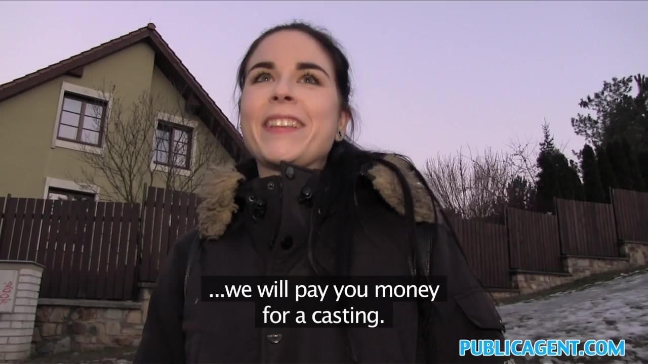 Czech Public Money Busty