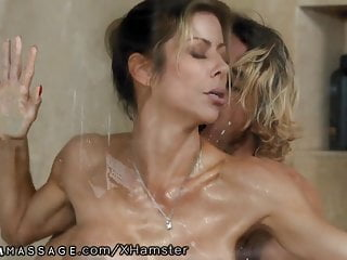 Son Caught Step Mommy Alexis Fawx Working At Nuru Massage