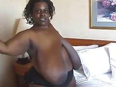Gigantic African Boobs