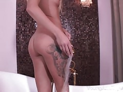 Young Anal Tryouts - Just look at this doll-like babe