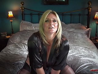 British Stockings Pov video: Private Cam Show