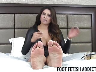 Femdom Pov Foot Fetish video: My perfect feet need to be worshiped daily