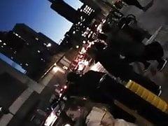 Manchester Lady 9inch Heels (Candid) Folgen Sie diesem Arsch