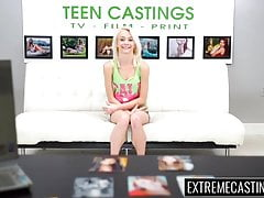 Teenie Maddy Rose facialized no casting