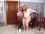 Big Booty BBW Tiffany Star Pleases Big Black Cock