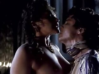 Big Tits Kissing Celebrity video: Frances Barber in Boudica Warrior Queen