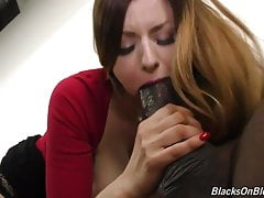 Busty dívka Stella cica a kurva monstrum black cock