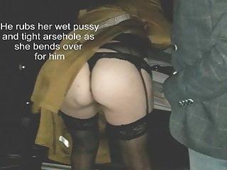 Stockings Flashing Milf video: Surrey Hills Dogging part 3
