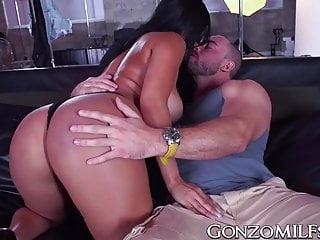 Milfs Big Boobs Big Tits video: Good looking MILF with big tits hammered hard doggy style