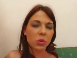 .Hot girl fucked by 2 cocks .