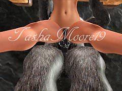 Tasha zkoumání Second Life