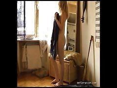 Nude Casting von Emilie Ravin in altmodischem Stil