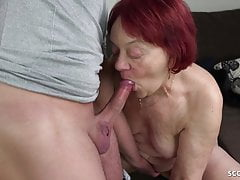 HAIR REDHEAD GRANDMA SEDUED TO FUCK YOUNGER GUY