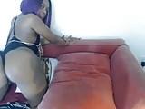 Two Lesbian Ebony Babes Shaking Ass