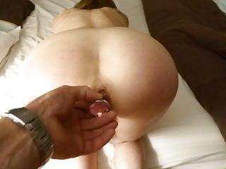 Amateur Strapon Blowjob video: deep penetration
