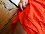 upskirt wife no panties