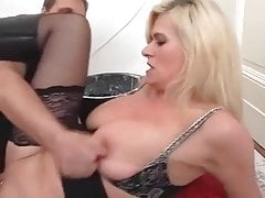 mature love hard fuck anal 5...Mom's pussy with piercing
