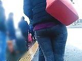 Girls ass on street 8