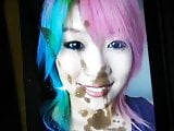 WWE Asuka Cumtribute 2 (HUGE CUMSHOT!!)