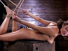 Isabella Nice leidet in brutaler Bondage