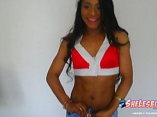 Latin Shemale Shemale Fucks Shemale Shemale Masturbation Shemale video: Nikki Montero goes crazy for SexMas