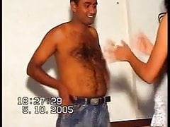 bangladeshi couple topless dance