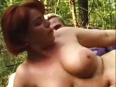 F60 Big Boobs OUTDOOR FUCK
