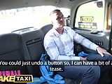 Female Fake Taxi Horny lady taxi driver rides big cock