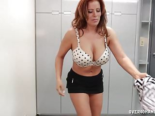 Matures Milfs Handjobs video: POV Mexican Milf With Big Juggs Wins Citizenship