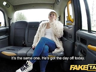 Fake Taxi Serial squirting from busty blonde amateur