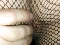 Moglie cazzo e sborrate disordinate con calze strappate amatoriali