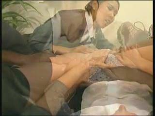 Порно баба в чулках
