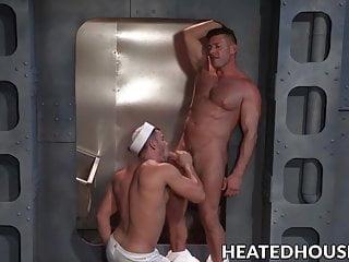 Muscular humiliates and fucks...