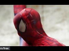 Men.com - Aston Springs and Will Braun - Spiderman A Gay Xxx