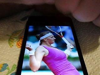 Is tribute! beautiful? Petra she not wta  Kvitova