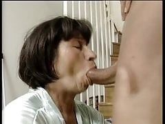 Chubby Grandmother Gets Her Twat Licked