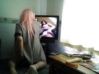 Pink haired cd prison slut...