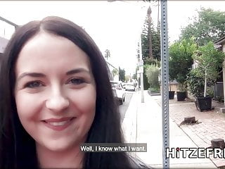 HITZEFREI Emma meets a guy from a German dating app