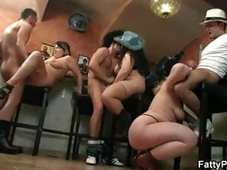 Hot orgy right bar...