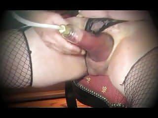 Transsexual cock fetish pump...