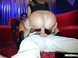 Penthouse Pet Nikki Benz & Jessica Jaymes Share Cock & Cum!