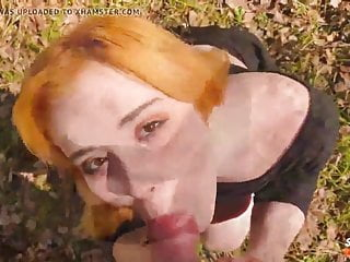 Fucked in woods Cutie cosplay