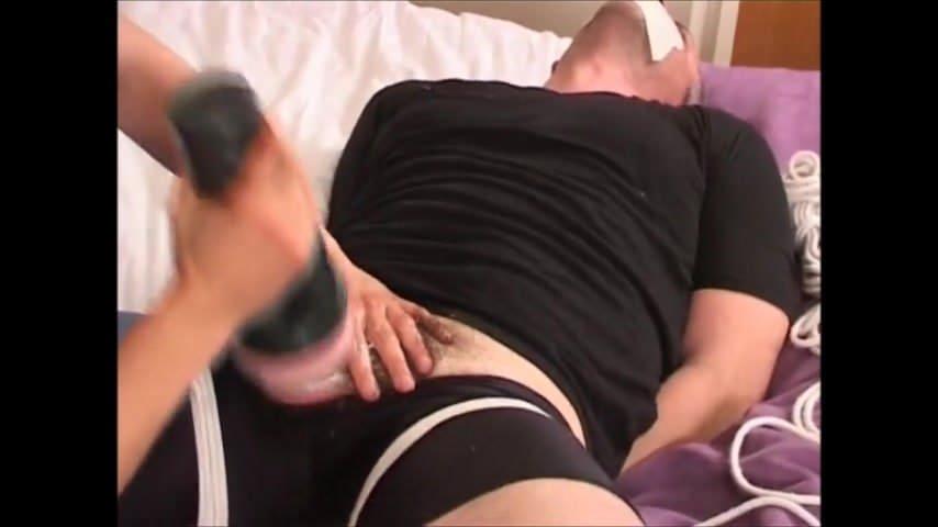 Tied Up Made Cum Lesbian