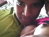 . Sri lankan teen couple Kissing boob