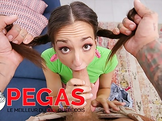 Pegas Productions – Mia Luna's Crazy Tinder Date Hookup